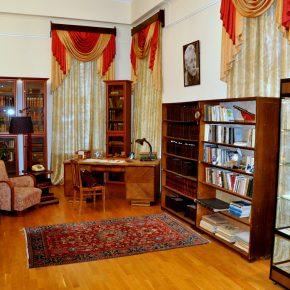 Репортаж с открытия мемориального кабинета писателя Николая Задорнова в пензенском литературном музее
