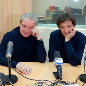 Гости Радио России из Пензы актеры театра и кино Вениамин Смехов и Евгений Редько.