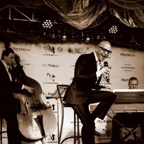 """В """"ЧАРЛИ ГОЛД"""" пел наш земляк - ученик Аллы Коршуновой ДЖОРДЖ ХОДОС. Прозвучали мировые хиты, а также авторские произведения"""