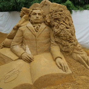 Пензенский краеведческий музей. Выставка скульптур из песка