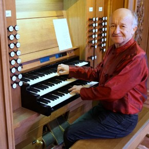 В заключительный день первого фестиваля органной музыки выступил Фабрис Питруа (Франция) - профессор Лионской консерватории, штатный органист кафедрального собора города Нарбонна.
