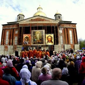 1 мая. Соборная площадь. Праздник ПАСХИ
