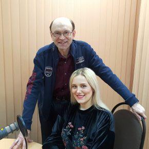 Встреча с нашей землячкой, актрисой театра и кино, певицей ЮЛИЕЙ ВАТРАЛЬ