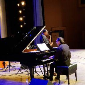 Репортаж с концерта Даниила Крамера и Винсента Херринга (США)