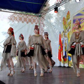 Показ высокой мордовской моды. Село Даньшино, Белинский район