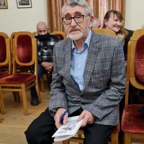 Профессору ПГУ , писателю, поэту Геннадию Елизаровичу Горланову 80! Репортаж.