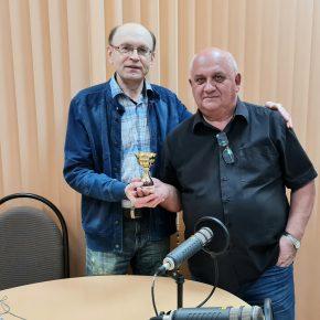 В студии юбиляр недели - коллекционер, краевед, издатель Игорь Шишкин.
